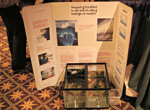 ... Warming Science Fairs, Climate Change Science Fair Projects Photos